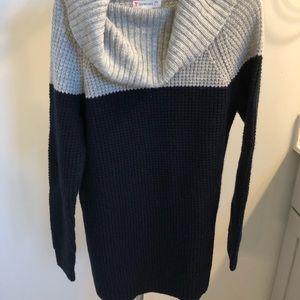 Crewcuts sweater dress size 6